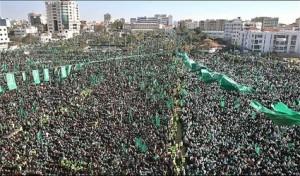 Hamas rally Gaza