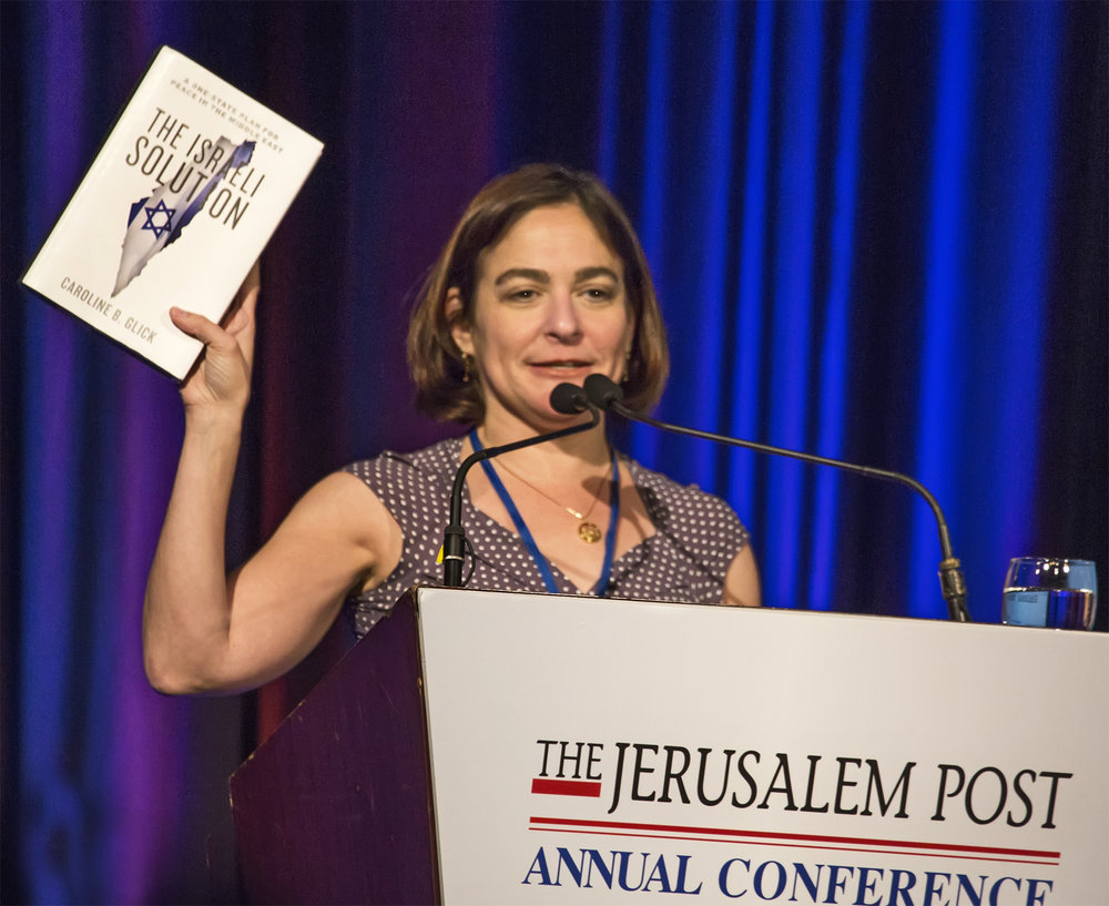 The Jerusalem Post Annual Conference at Marriott Marquis in New York City on April 6, 2014