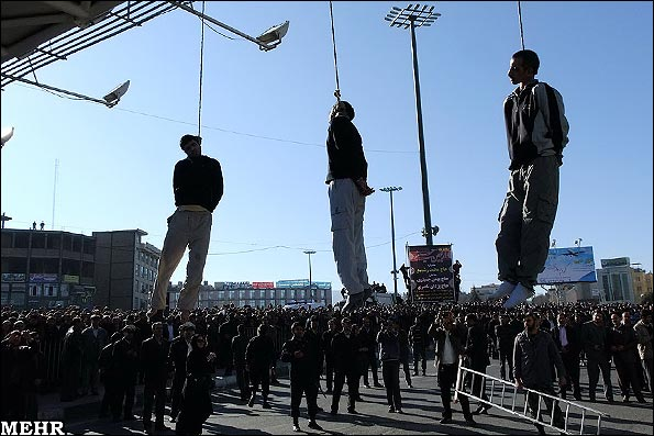 Islamic Republic hanging