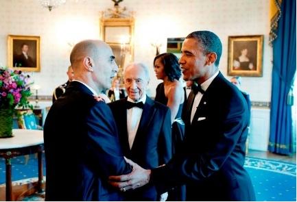 Gen. Gadi Shamni and Obama