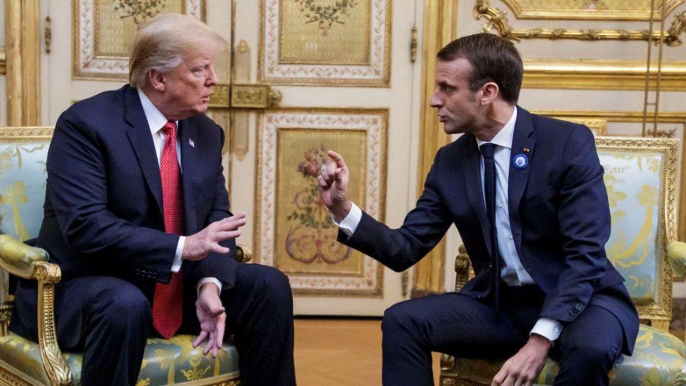 A Desperate Emmanuel Macron Attacks Donald Trump Carolineglick Com
